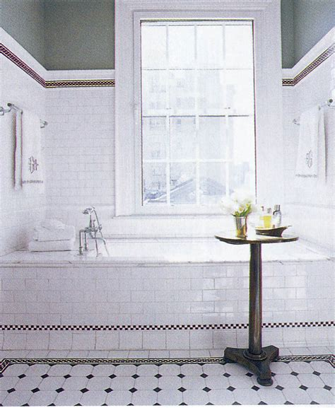 black and white bathroom tile ideas meets not serious is the key