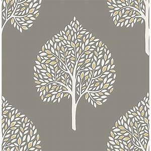 Fine Decor Annabelle Wallpaper - Grey Decorating - B&M