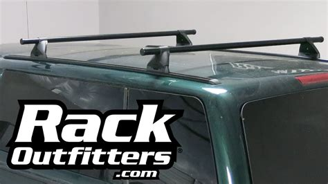 Yakima Control Tower Round Bar Roof Rack On Tracks For