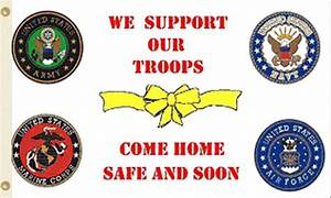 How Many Lights For A 5ft Tree We Support Our Troops Come Home Safe Flag Military