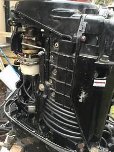 1975 Mercury Inline 6 Tower Of Power 115 Hp For Repair Or