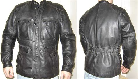 Hein Gericke Dakar 3/4 Length Leather Jacket. The Best