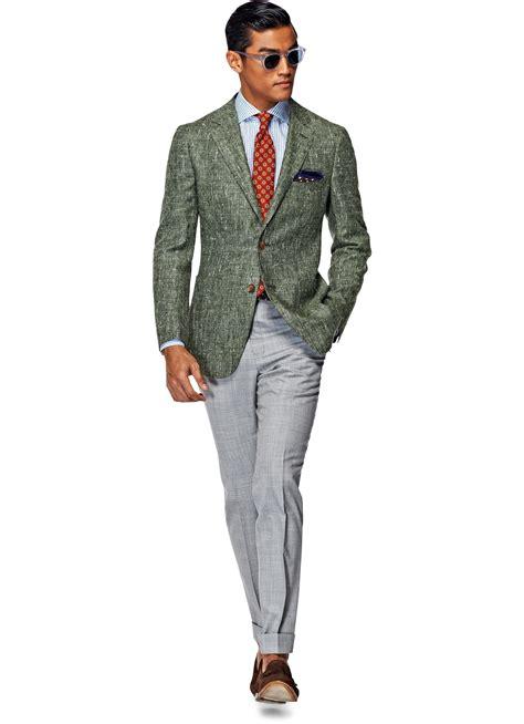 Silklinen Havana Green Sport Coat From Suit Supplys