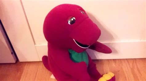 Talking Barney The Dinosaur 1996 Plush Toy 71245