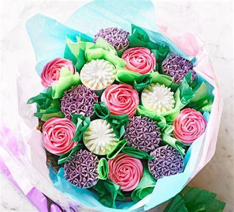 vanilla cupcake bouquet recipe bbc good food