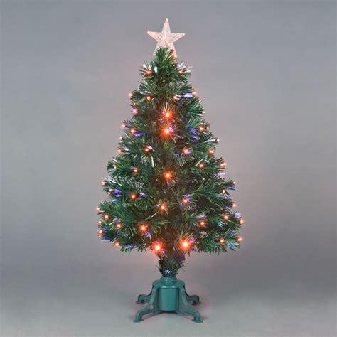 argos fiber optic christmas tree 5ft fibre optic tree find it for less