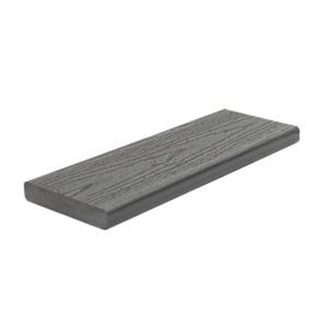 Trex Enhance Decking Home Depot by Trex Enhance 1 In X 5 1 2 In X 12 Ft Clam Shell Square