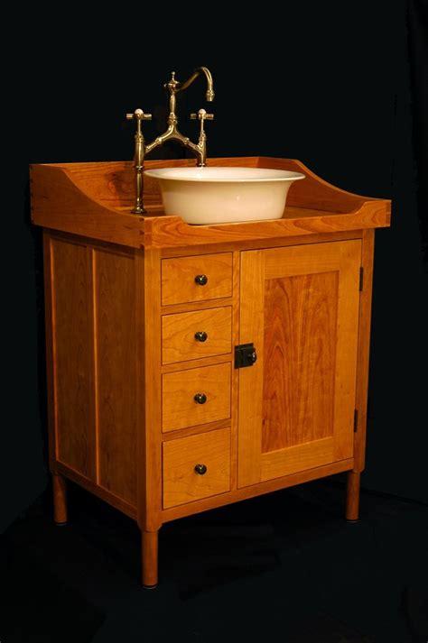 custom  shaker vanity washstand   andrew maisel custommadecom