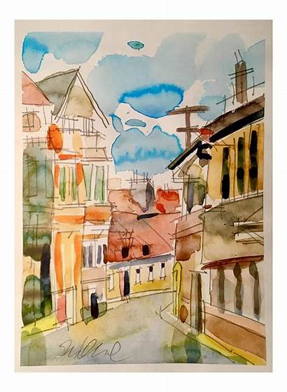 Paintings Chairish Sold Watercolor