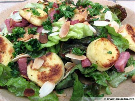 secateur de cuisine salade aux quenelles et lardons recette de cuisine