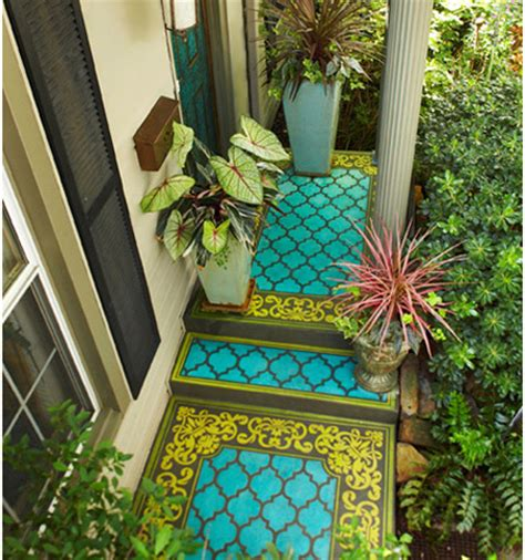 home dzine garden decorate a porch with paint