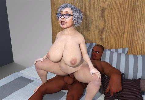 3d Interracial Randy Granny Issue 2 Porn Comics Galleries
