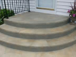 Semi Circle Outdoor Furniture by Rounded Paver Steps Rounded Concrete Steps Jpg Step