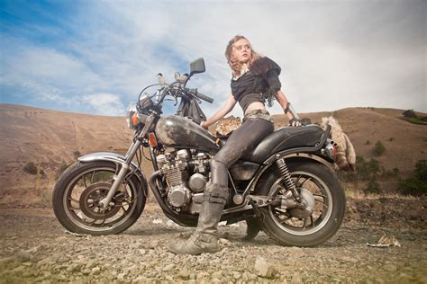 mad for motocross coyote velten mad max motorcycle moto lady