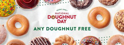 krispy kreme issues sweet national doughnut day challenge