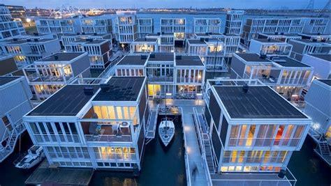 cuisine du nord de la les maisons flottantes d 39 ijburg à amsterdam