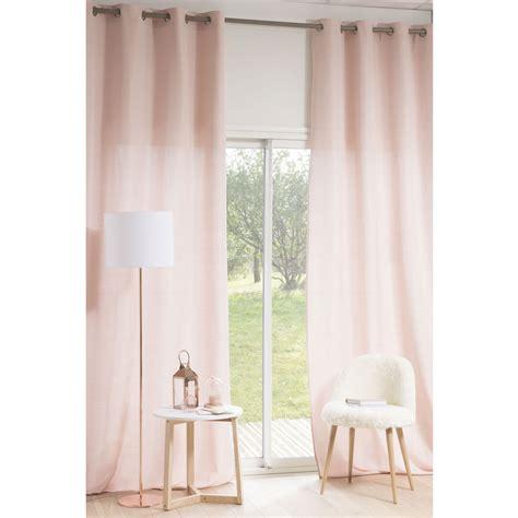 214 senvorhang rosa 140 x 300 cm phoebe maisons du monde