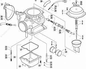 Wiring Diagram  28 Arctic Cat 300 Carburetor Diagram