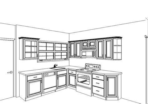 kitchen plans pictures  kitchens