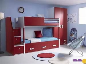 Lit Superposé Escalier : 10 jolis mod les de 2 ou 4 lits superpos s pour enfants et ~ Premium-room.com Idées de Décoration