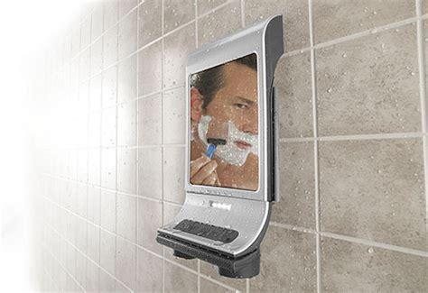 fog  shower mirror  bluetooth speaker  sharper image