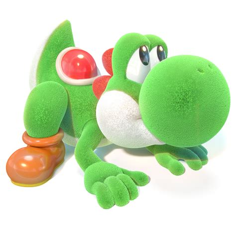 Yoshi's Crafted World Render 6