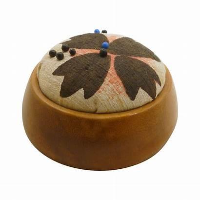 Wood Cushion Round Smooth Rarefinds