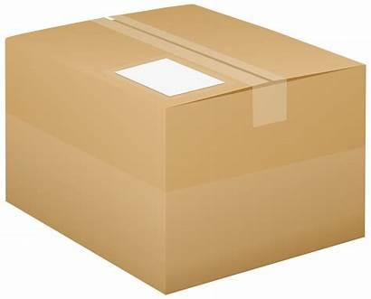 Box Cardboard Clip Clipart Link Clipartpng