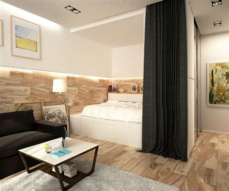 Studio Apartments For Couples by 2 Simple Beautiful Studio Apartment Concepts For A