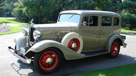 1933 Chevrolet Master Eagle Deluxe Sedan  T113  Indy 2014