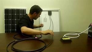 Renogy  100 Watt Starter Kit Solar Panel Installation