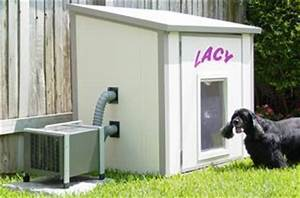 dog house air conditioner this would be even better if it With solar powered dog house ac