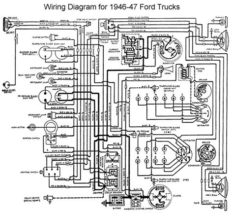 6 Volt Generator Wiring Diagram 1950 Mercury by Help With Horn Setup 46 Ford Ford Truck