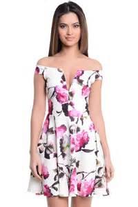 vintage wedding dresses floral dresses the shoulder for women