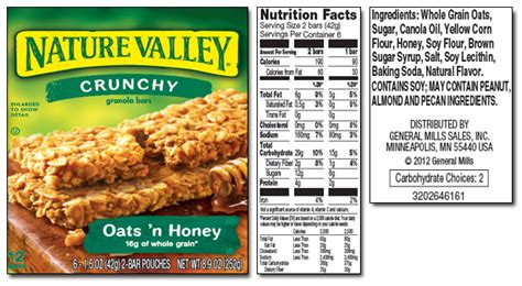 amazoncom nature valley crunchy granola bars oats