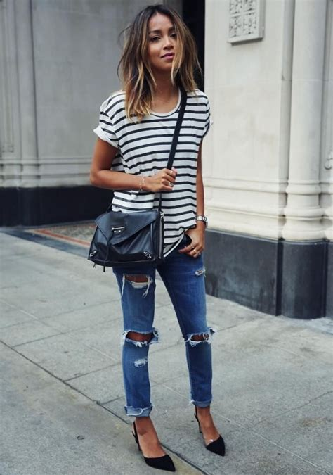 How To Wear Ripped Jeans This Summer 2018 | Become Chic
