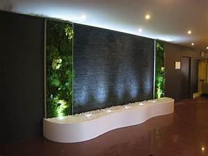 decoration mur eau interieur With decor sur mur interieur