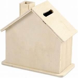 Haus Aus Holz : spardose haus aus holz 10 x 10 x 5 4 cm kreativ depot ~ Buech-reservation.com Haus und Dekorationen