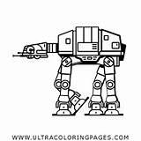 Coloring Ausmalbilder Walker Roboter Wanderer sketch template