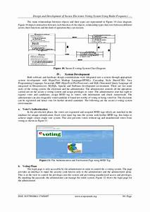 Design And Development Of Secure Electronic Voting System