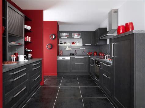 deco cuisine gris et blanc déco cuisine noir blanc gris