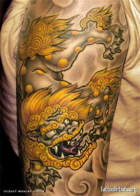 sublime foo dog tattoos tattoodo