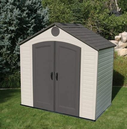 8 x 5 shed 8 x 5 lifetime plastic outdoor storage shed