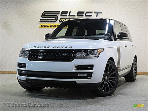 2017 Land Rover Range Rover Supercharged In Fuji White