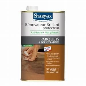 entretien brillant 2 en 1 pour parquets et sols stratifies With starwax parquet vitrifié