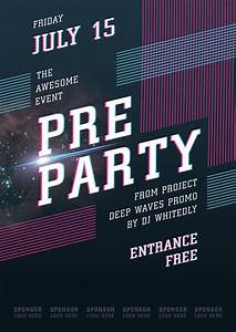 Event Poster Template by Itembridge on DeviantArt