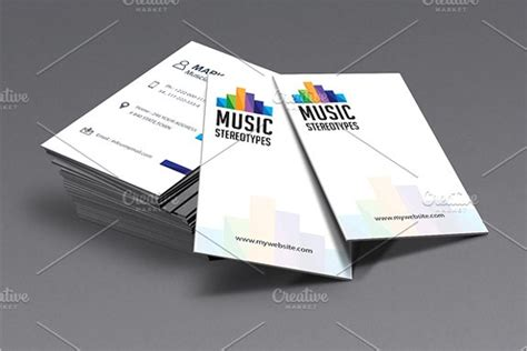 business card templates  word psd designs