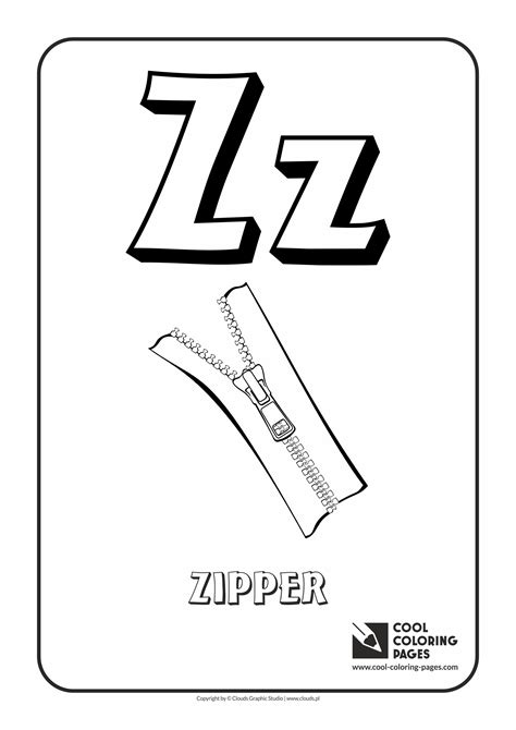 coloring z cool coloring pages alphabet coloring pages cool