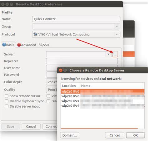 cannot rdp to another ubuntu box ubuntuxchanger