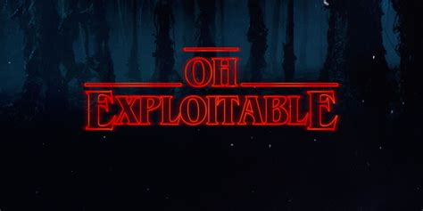 Type Whatever You Want In The 'stranger Things' Title Font